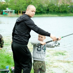 Rybárske preteky pre mládež Senec 2015