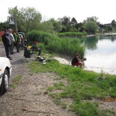 Rybárske preteky Senec, mládež 2012