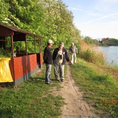 Rybárske preteky Senec, Strieborné jazero 2012